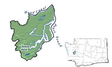 map of totten inlet
