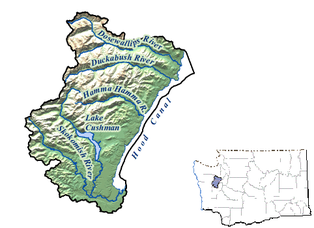 map of lake cushman area